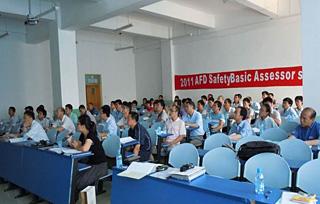 AGC(中国大連)でのSBA講習会(2011年)